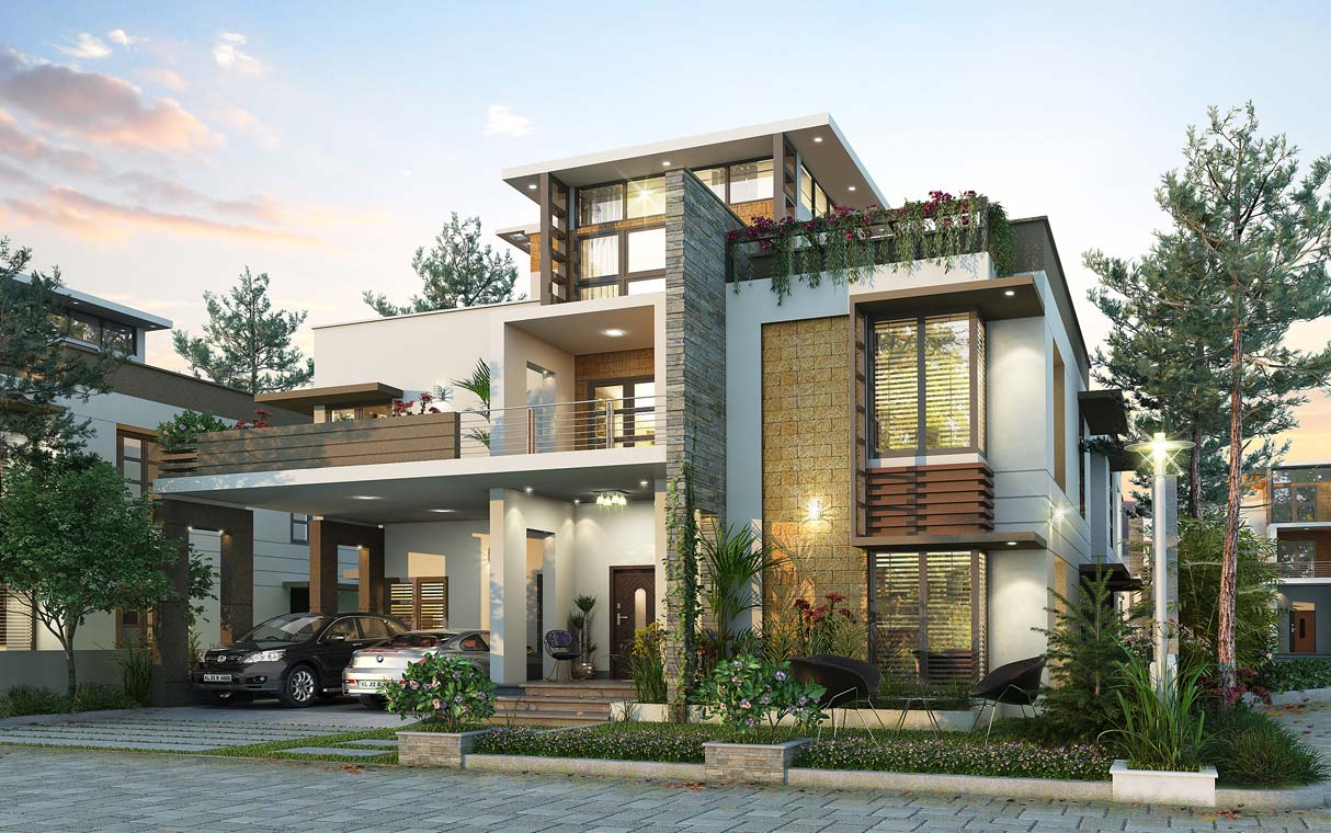 Villas in Kochi / Cochin | Apartments in Kochi | Flats in Kochi